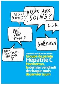 Affiche Groupe de Parole hépatite